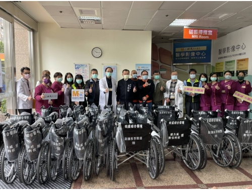 膜力威愛心輪椅捐贈