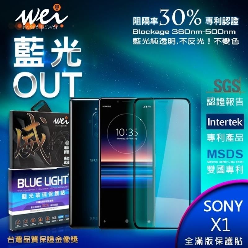膜力威 專利抗藍光 Sony Xperia 1